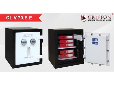 Сейф CL V.70.E.E торгової марки Griffon – надійний захист Ваших цінних речей