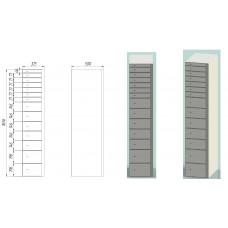 Deposit lockers DS.165.14