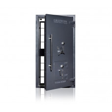 Двері для сховищ 2 класу з аварійними дверима (К + К + С)