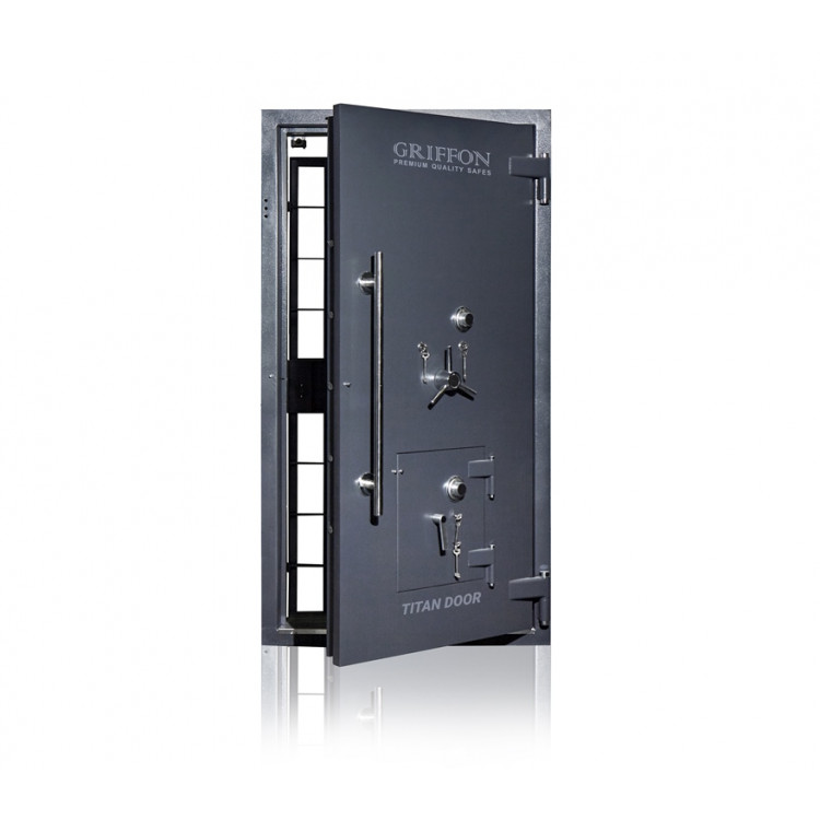 Двері для сховищ 5 класу з аварійними дверима (К + К + С)